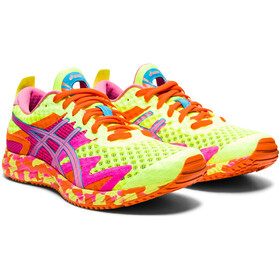 asics Gel-Noosa Tri 12 Shoes Women, safety yellow/dragon fruit